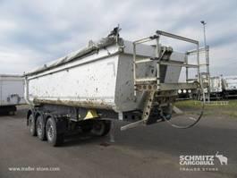 kipper oplegger Schmitz Cargobull Kipper Staal rond 24m³ 2014