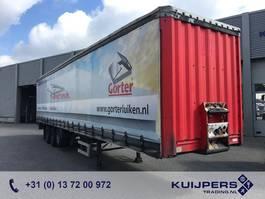 schuifzeil oplegger Krone Curtainsider / 3-Assige / SAF / APK-TüV / Lift Axle 2004