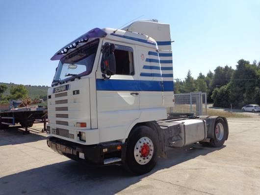 standaard trekker Scania SCANIA 143MA 4X2L-STREAMLINE 1995