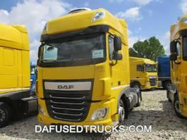 mega-volume trekker DAF FT XF460 LOW DECK 2015