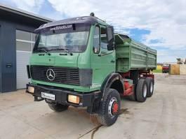 kipper vrachtwagen > 7.5 t Mercedes Benz 2626 AK 6X6 meiller tipper 1984