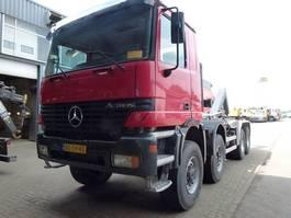 containersysteem vrachtwagen Mercedes Benz Actros 4140 AK/8X6/4 - Telligent 3 pedals 1998