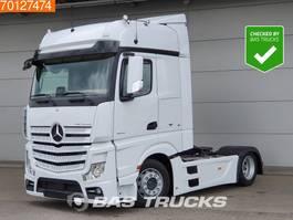 mega-volume trekker Mercedes Benz Actros 1842 LS 4X2 Mega Standklima Retarder 2x Tanks Euro 6 2015
