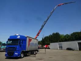 schuifzeil vrachtwagen DAF Pritsche Plane PK34002 6xhydr JIB 3xhydr 4-Punkt