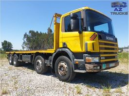 standaard trekker Scania 124G-360 FULL STEEL MANUAL GEARBOX 3+3 2001