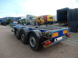 container chassis oplegger Renders Euro 800 / 2x Extendable / Lift axle / MB Disc 2005