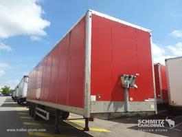 gesloten opbouw oplegger Samro Droge vracht Roldeur 2011