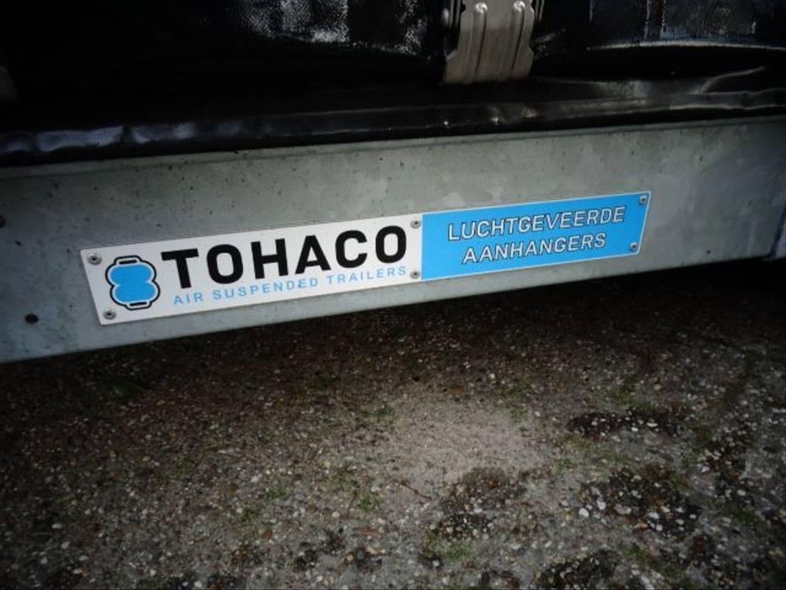 autotransporter aanhangwagen Diversen Tohaco Autotransporter luchtgeveerd 3.500 kg GVW 2017
