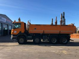 kipper vrachtwagen > 7.5 t Scania P440 - 8X4 ** BJ2013 *MEILLER-KIPPER/Bordmatic 2013