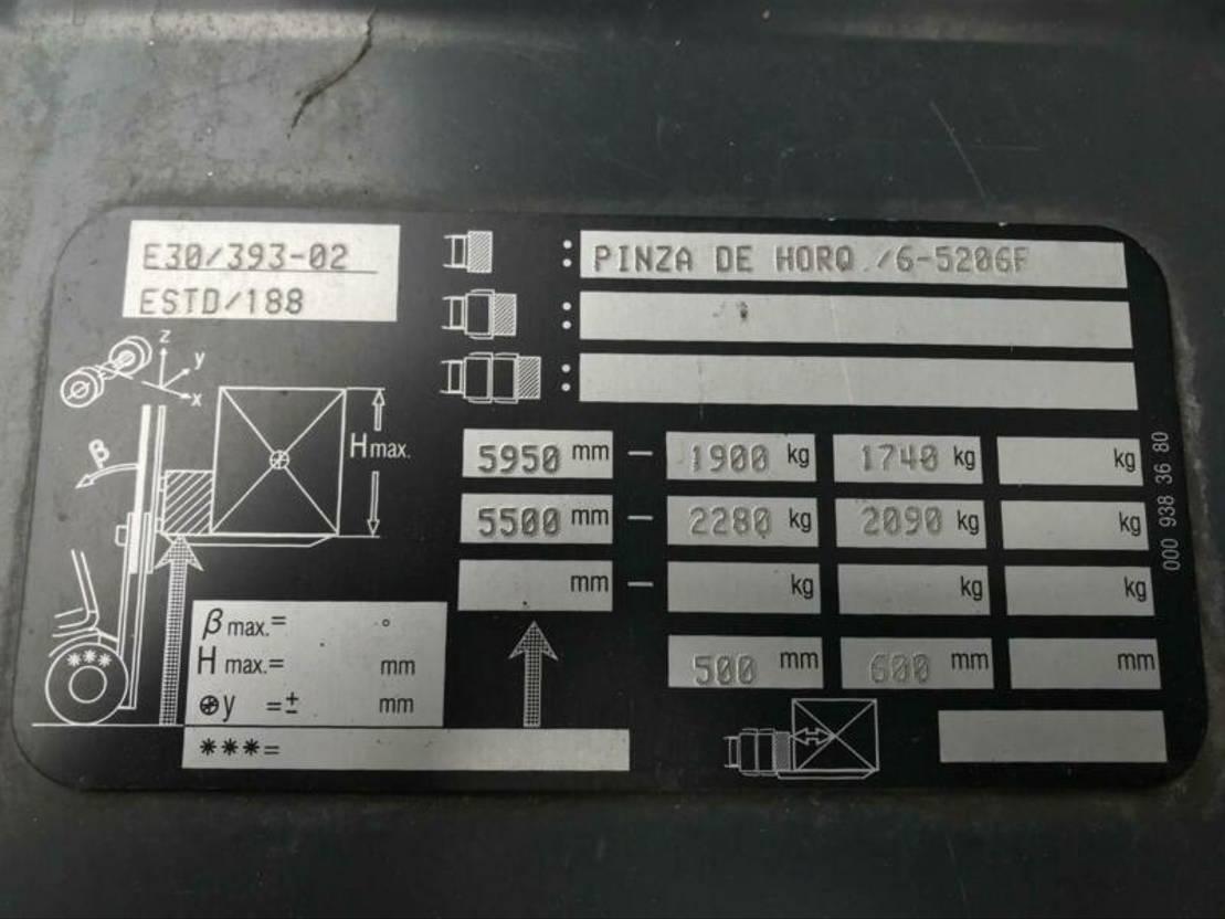 vorkheftruck Linde H30T-02** BJ. 2013 - LGP 2014