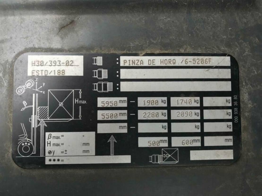 vorkheftruck Linde H30T-02** BJ. 2014 - LGP 2014