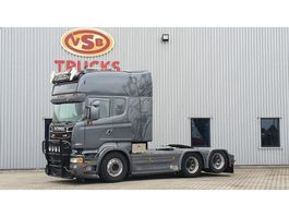 standaard trekker Scania Scania R 560 Longline/ Boogie /PTO/ Special interior full air 6x2 2012