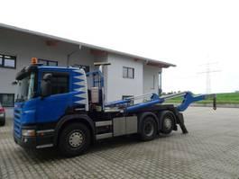 containersysteem vrachtwagen Scania P 400 6x2 Gergen NLA Lenkachse