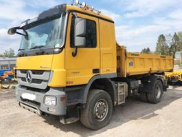 kipper vrachtwagen > 7.5 t Mercedes Benz Actros 1855 AK 4x4 Actros 1855 AK 4x4, Retarder, V8, Bordmatik links 2013