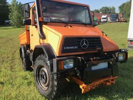 kipper vrachtwagen > 7.5 t Mercedes Benz Unimog u110 3way tipper 1994