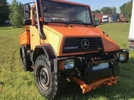 kipper vrachtwagen > 7.5 t Mercedes-Benz Unimog u110 3way tipper 1994