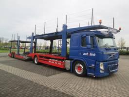 autotransporter vrachtwagen Volvo FM460 4X2 WITH LOHR EURO 5 2010
