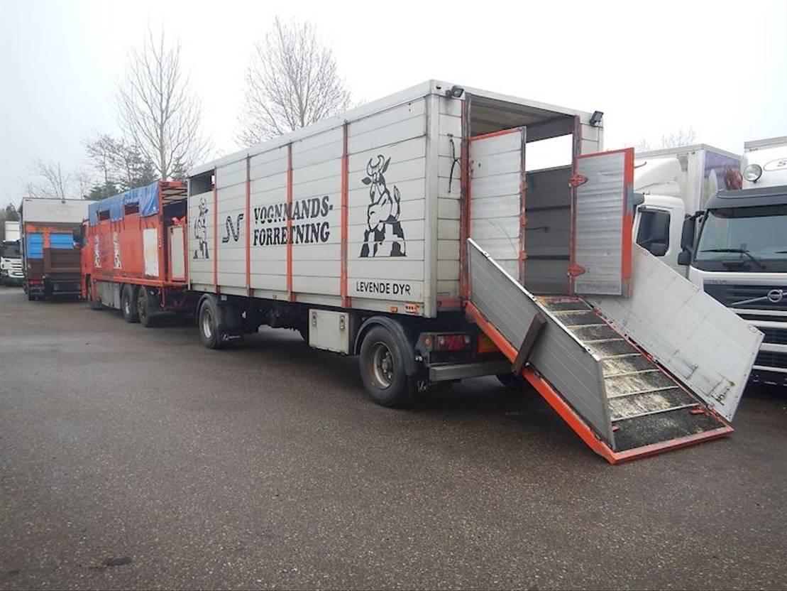 vee oplegger Lecitrailer Kreatur anhænger 2010