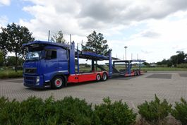 autotransporter vrachtwagen Volvo FH460 6X2 KASSBOHRER COMPLETE SET 2013 EURO 5 2013
