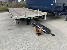 platte aanhanger vrachtwagen Jumbo TM 100 E 2014