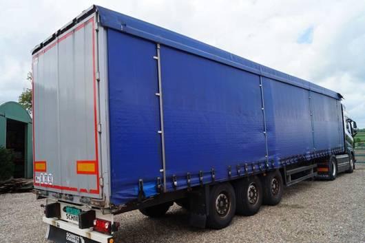 schuifzeil oplegger Schmitz Cargobull 3-assige oplegger 2008