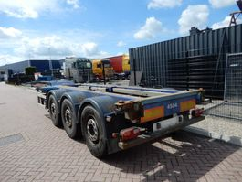 container chassis oplegger Renders Euro 800 / 2x Extendable / Lift axle / All containers 2005