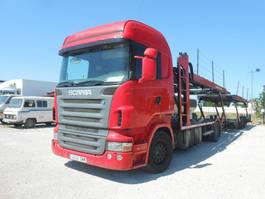 autotransporter vrachtwagen Scania R 500 LB 2005