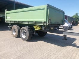 overige vrachtwagen aanhangers Schmitz Cargobull ZKI 18-4.9 ZKI 18-4,9 Alubordwände 2010
