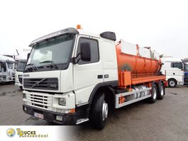 kolkenzuiger vrachtwagen Volvo FM 10.320 + Manual + VACUUM + 6X4 + BLAD-BLAD-BLAD + PTO 2000