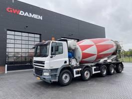 betonmixer vrachtwagen DAF AD 85.380  XC 10x4   15 m3 Mixer 2007