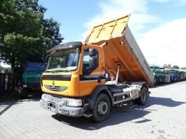 kipper vrachtwagen > 7.5 t Renault MIDLUM 280.18 2009