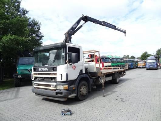 kraanwagen Scania P94 230 FASSI 110 2004