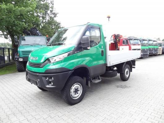 open laadbak vrachtwagen Iveco DAILY 35S18W 4X4 2018
