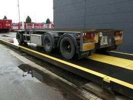 container chassis oplegger Burg Meerdere op voorraad! 2001