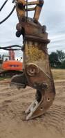 breker en hamer vergruizer/crusher beton vergruizer