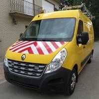 gesloten bestelwagen Renault master L2H2 2012