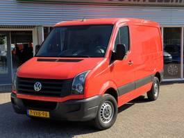 gesloten bestelwagen Volkswagen Crafter 28 2.0 TDI L1H1 109 PK Cruise, Airco 2012