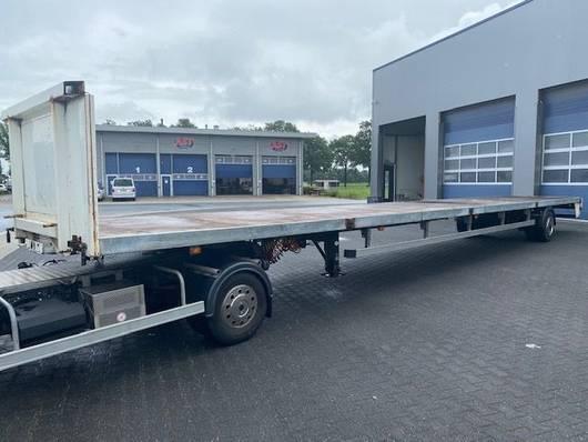 BE oplegger Veldhuizen DT5500, 13.60 Mtr, Lenk / Steering / Stuuras 2001