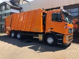vuilniswagen vrachtwagen Volvo FH 460 Faun Powerpress 524 Zöller Lifter 2301 2010