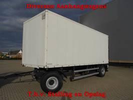gesloten opbouw aanhanger Vrachtwagen Aanhangwagens T.b.v. Stalling en Opslag