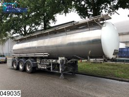 tankoplegger Magyar Chemie 26000 Liter, 10 Compartments, isolated tank, Disc brakes 2001