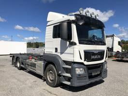 wissellaadbaksysteem vrachtwagen MAN TGS 26.440 LL, Euro 6, Intarder, Navi, 2016, 2015