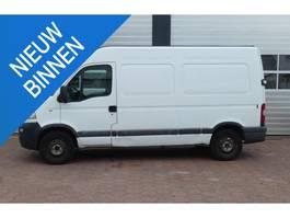 gesloten bestelwagen Opel Movano 2.5 CDTi L2 H2 TREKHAAK/ APK 2003