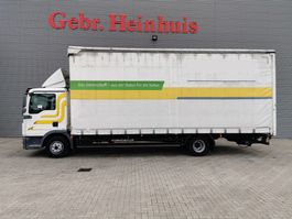huifzeil vrachtwagen MAN TGL 12.250 4x2 EEV Euro 5 Tailgate 2012