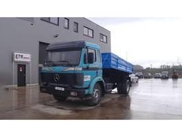 kipper vrachtwagen > 7.5 t Mercedes Benz SK 1722 (STEEL SUSPENSION / SUSPENSION LAMES / V6) 1998
