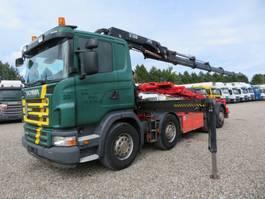kraanwagen Scania G480 8x2*6 Hiab 244 EP-5 Tipper / Crane