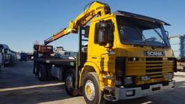 platform vrachtwagen Scania 113H 360 20TONS CRANE
