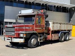 kraanwagen Scania T112H 6x2 1985