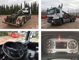 wissellaadbaksysteem vrachtwagen Mercedes Benz Actros 2644 L 6x4 Actros 2644 L 6x4 Klima/eFH. 2007