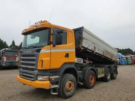 kipper vrachtwagen > 7.5 t Scania R500 8X4 KIPPER VOLL BLATT 2006